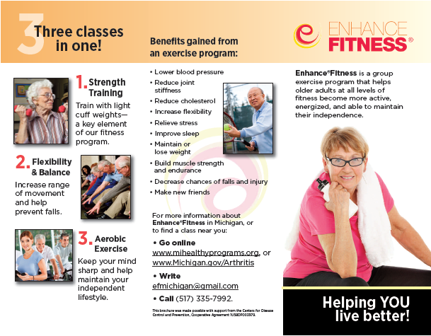 enhance fitness brochure page 1